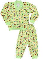 Детская пижама (кофта и брюки)      (Зеленый)