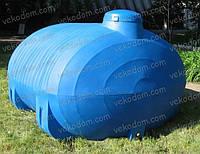 Код-RPH-5000Т. Емкость горизонтальная для транспортировки воды 5000 л