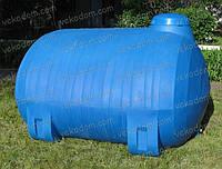 Код-RPH-3000Т. Емкость горизонтальная усиленная для транспортировки воды и КАС 3000 л