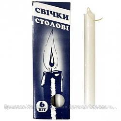 Свечки Cтоловые, парафиновые