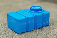 Код-RPR-100-01. Емкость горизонтальная прямоугольная для воды 100 л