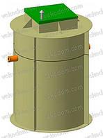 Биологическая очистка стоков «BBu - 1,5» (1,5 куба/сут)
