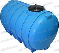 Код-G-2000E. Емкость горизонтальная для транспортировки воды 2000л