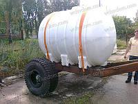 Код-G-5000 АГРО СП. Емкость горизонтальная для транспортировки воды и КАСа 5000л
