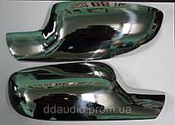 RENAULT MEGANE II Накладки на зеркала нерж