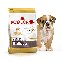 Сухой корм для щенков бульдога Royal Canin Bulldog Junior, 3 кг