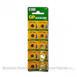 """Батарейка GP-192 LR41 """"таблетка"""""""