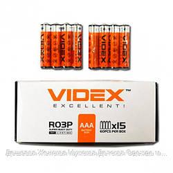 Батарейка Videx R03P/AAA 4pcs SHRINK