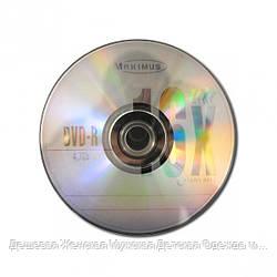 Диски DVD-R MAXIMUS 4. 7Gb 16x Bulk 50 штук
