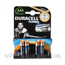 Батарейка Duracell Turbo LR-03 ААА по 4 штуки mini