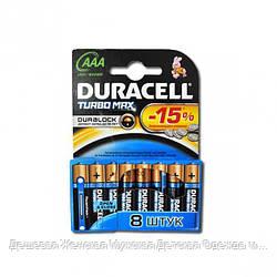 Батарейка Duracell Turbo LR-03 ААА МХ2400 по 8 штуки mini