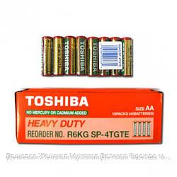 Батарейка Toshiba R6KD SP-4TGTE