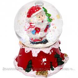 """Шар метель """"Дед Мороз, Снеговик"""" 65"""