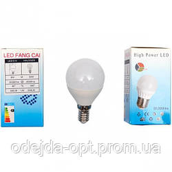 Лампа LED тонкий цоколь 6W теплый