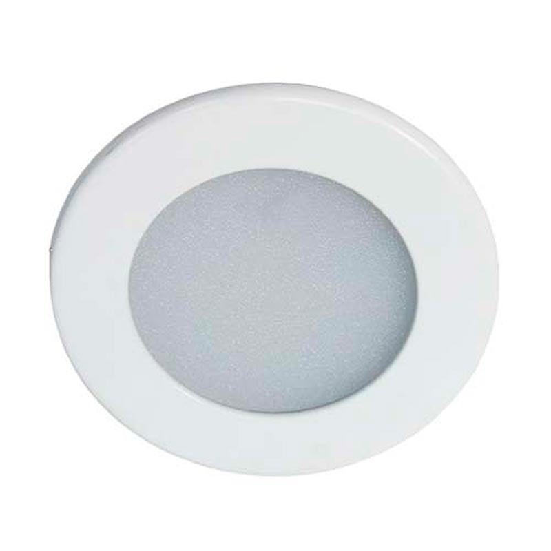 Светодиодный светильник «downlight» встраиваемый 3W круг белый нейтральный Feron AL510 3W 180Lm 4000K