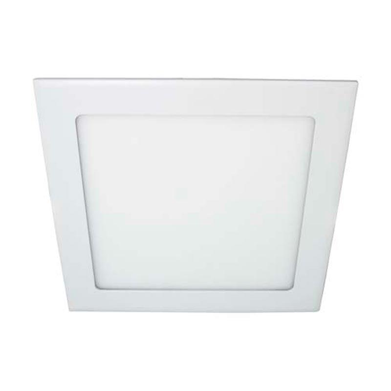 Светодиодный светильник «downlight» встраиваемый 24W квадрат белый нейтральный Feron AL511 24W 1440Lm 4000K
