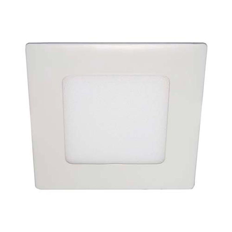 Светодиодный светильник «downlight» встраиваемый 6W квадрат белый нейтральный Feron AL511 6W 360Lm 4000K