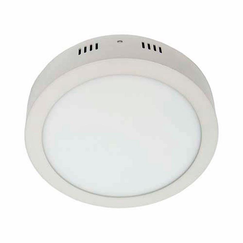 Светодиодный светильник «downlight» накладной 24W круглый белый нейтральный Feron AL504 24W 1920Lm 5000K