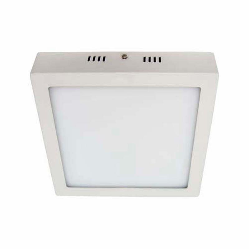 Светодиодный светильник «downlight» накладной 12W квадрат белый нейтральный Feron AL505 12W 960Lm 5000K