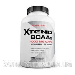 Xtend BCAA 200 капсул Scivation