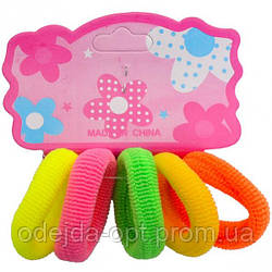 Резиночки для волос 12х5 штук WEM 9400