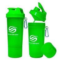 SmartShake Slim NEON Green 500 ml SmartShake