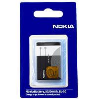 Аккумулятор Nokia BL-5C 1020 mAh 110, 112, 114 AAA класс
