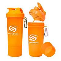 SmartShake Slim NEON Orange 500 ml SmartShake