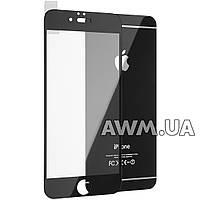 Защитное стекло iPhone 7 на обе стороны глянец (черный)