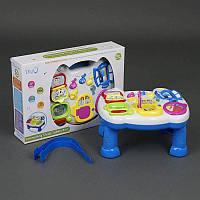 Игровой музыкальный столик WD 3629 (24/2) свет, звук, на батарейке, в коробке