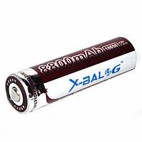 Аккумулятор для фонарика X-Balog 18650 3.7-4.2V