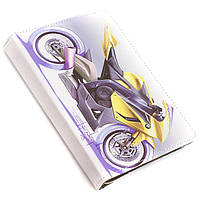 Чехол-книжка 7 дюймов с разворотом print, уголки-резинка Moto BMW Yellow