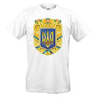 Футболка с большим гербом Украины (2)