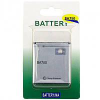 Аккумулятор Sony Ericsson BA750 1500 mAh LT15i, LT18i, X12i A класс