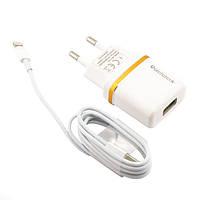 СЗУ Reddax RDX-013 USB 5V + Lightning cable 2100 mA white