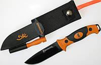 Нож Browning Ignite точилка, огниво, фото 1