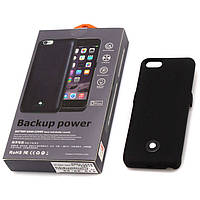 Чехол-аккумулятор X366 для iPhone 5-5S Black Matte