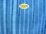 Тент 6х8 из тарпаулина с люверсами 60г/1м² ЦВЕТ:Синий (для любых целей), фото 6