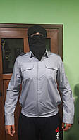 Рубашка полицейская с длинным рукавом