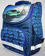 Школьный рюкзак Bagland каркасный ортопедический для мальчика
