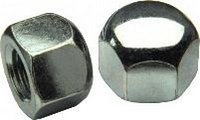 DIN 917, Гайка шестигранная М6 глухая, низкая из нержавеющей стали