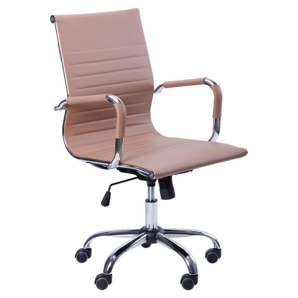 Кресло Slim LB (XH-632B) Бежевое (AMF-ТМ)
