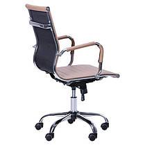 Кресло Slim LB (XH-632B) Бежевое (AMF-ТМ), фото 2