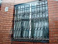 Решетки на окна, двери изготовление и монтаж