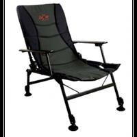 Comfort N2 Armchair (Удобное рыбацкое кресло с подлокотниками с регулируемыми ножками и наклоном спинки, размер: 50x50x35/88см, вес 5,7кг)