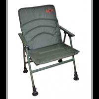 Easy Comfort Armchair (Удобное рыбацкое кресло с подлокотниками с регулируемыми ножками, размер: 49x38x40/82см, вес 4,8кг)