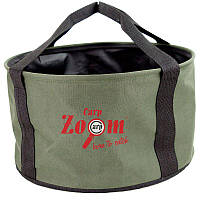 Ведро для прикормки Carp Zoom Foldable Groundbait Bucket Ø33x18см