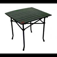 Roll-top bivvy table, 53x51x49cm (Легкий, но сильный стол со складными 4 ножками. В комплекте с сумкой для транспортировки. Размер в сложенном виде: