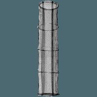 Stark Keepnet, 4 section (Ø45x200) (Матерчатый садок с металлическими кольцами - 4 секционный)