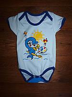 Боди футболка детский Дельфин, фото 1